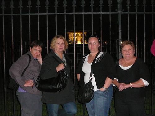 Pauline, Lynne, The White House, Fiona, Sue