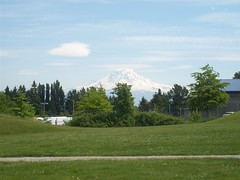 Mount Rainier From Kent, Washington (AdultSwimBumpChannel2009) Tags: rainier mountain kent seattle washington