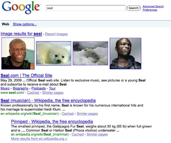 Google Results - Seal