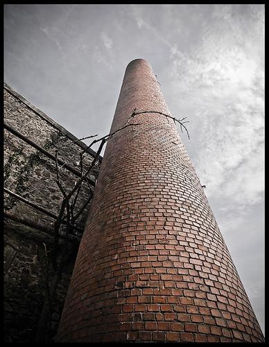 Usine textile 2: cheminée 2