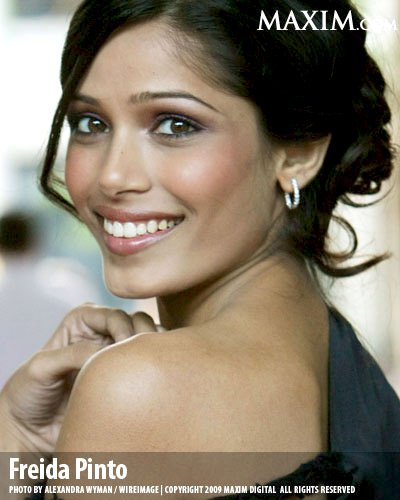 Freida Pinto on Maxim Magazine