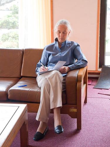 Dr. Jane Goodall 珍古德博士