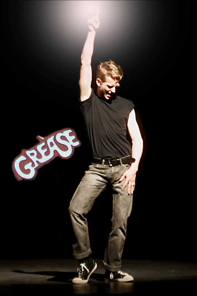 GREASE, Alma Performing Arts Center, Danny Zuko