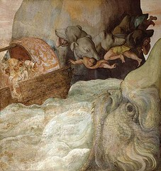 The ship of Ulisses between Scylla and  Charybdis (petrus.agricola) Tags: scilla scylla skylla