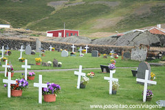 Igreja de Reykjahlid, Igreja rodeada de lava em Reykjahlid Lago Myvatn Islândia