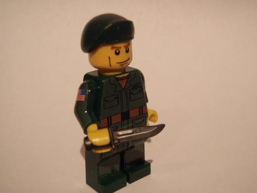 Green Beret custom minifig
