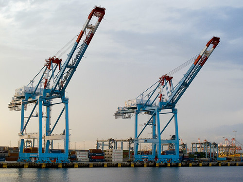 Gantry cranes by you.
