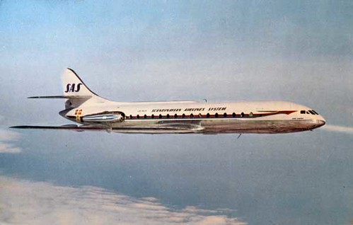 Scandanavian Airlines System Caravelle