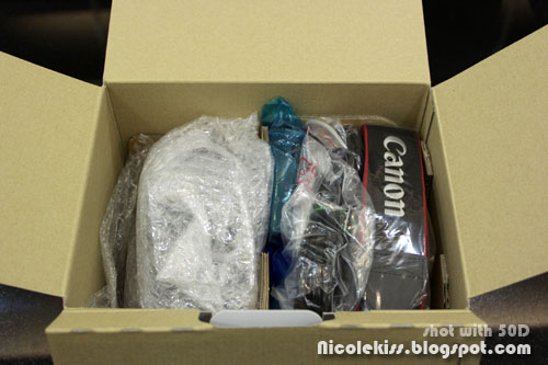 canon 500D with lens kit
