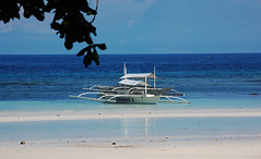 Beach (Gerald James Cabal) Tags: blue beach bohol panglao