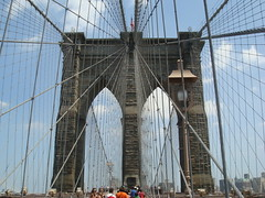 NYC - Brooklin Bridge (Mila_Barros) Tags: ny brooklin brigde