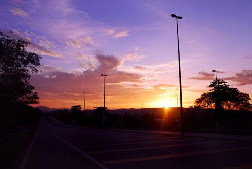 Sintok sunset