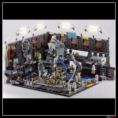 LEGO Star Wars Imperial AT-ST factory