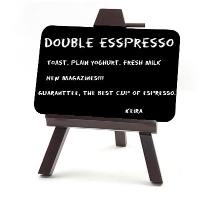Double Esspresso - Part of Mine