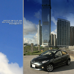 M2@West Kowloon (RAYMOND PHOTO - ONEPLUS STUDIO) Tags: westkowloon mazda2 raymondtam