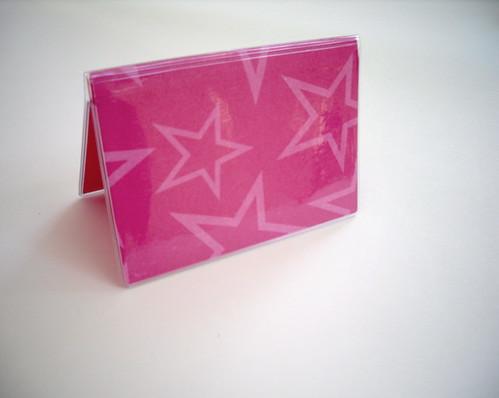 pinkstars businesscardcaseholder