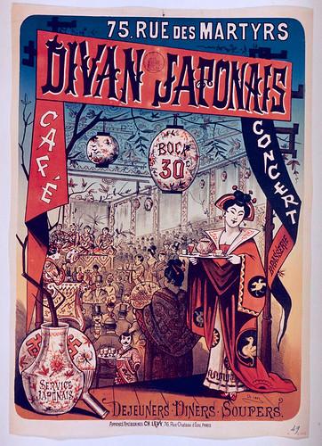004- Cafe concierto Divan Japones-siglo XIX