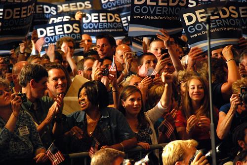 Deeds-Obama Rally
