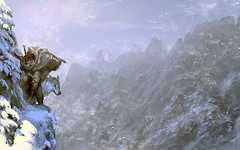 June_by_akizhao (Paulos Varrus) Tags: winter mountain snow male climb gnome wolf ranger human beast druid warden halfling companion shaman halfelf