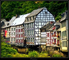 Monschau (NPP-publik_oberberg) Tags: house art river germany town village creative eifel oberberg monschau medival fachwerkhaus supershot platinumphoto colorphotoaward platinumsuperstar vanagram updatecollection artistoftheyearlevel4