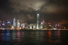 20090809_015 - Hong Kong Skyline (kewllewk) Tags: urban hongkong nightscape refelction