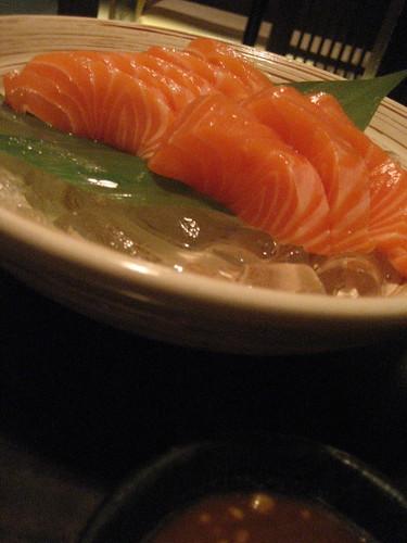 My favourite sashimi at Beppu, Luk Yeung Galleria