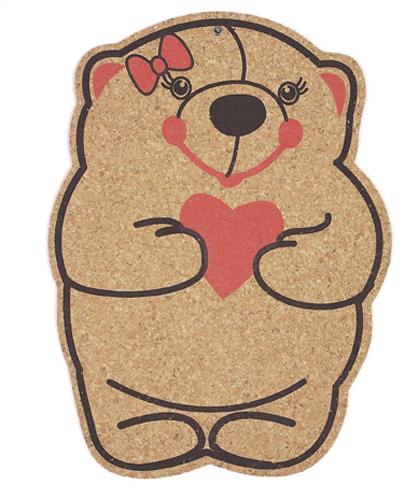 bear mommy ayıcık anne mantar pano 6.90