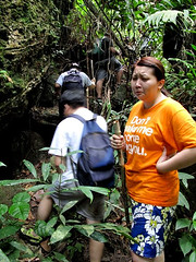 Kemensah Falls - 03 Suanie not happy