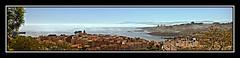 Entrando la niebla. (Jaime GF) Tags: costa mar nikon asturias paisaje luanco niebla panormica cantbrico gozn d40
