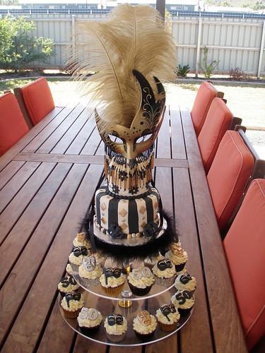 Swell Mossys Masterpiece 50Th Birthday Black Gold Silver Masquerade Funny Birthday Cards Online Alyptdamsfinfo