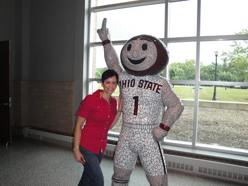 Brutus and I at the Schottenstein Center