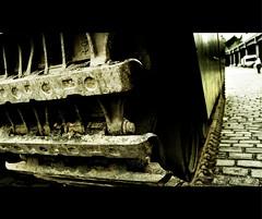 Caterpillar (Mr sAg) Tags: green museum manchester nikon war tracks battle caterpillar vehicle cobbles armour sag mosi castlefield museumofscienceandindustry mrsag