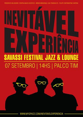 Art work for Inevitavel Experiencia  - Savassi Jazz Festival 2009