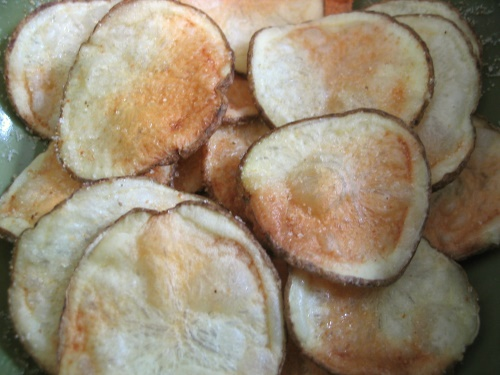 Potato Chips - cooked