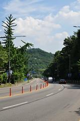 Carrer solitari camí de Namsan