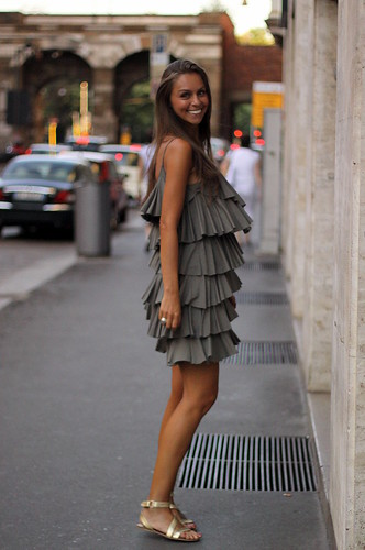 Vestido esvoaçante