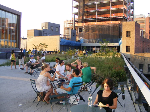 Tables And Chairs On High Line