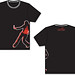 Chosen Dance Girls Black-Red T-Shirt Front-Back v2.jpg