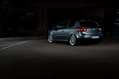 MkV Golf (ekkoj) Tags: vw golf volkswagen tdi grey diesel bbs lowered fk mkv stobist