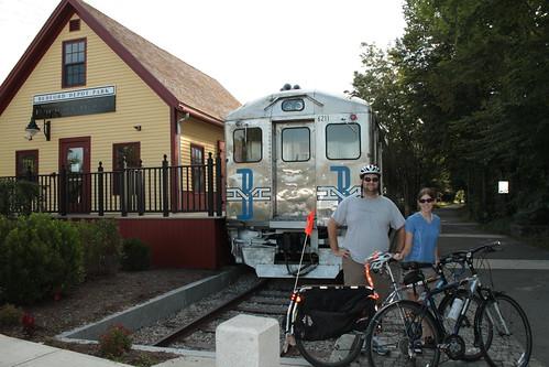 Minuteman Bikeway Beginning