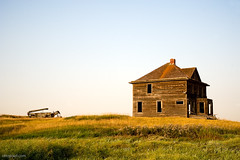 Weyburn Farm House 1 (Dcysiv Moment) Tags: old house field rural wooden farm empty abandon weathered saskatchewan agriculture rundown
