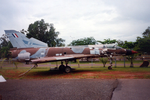 Photograph 0270 - 75 Squadron Mirage A3-36 on Display at Darwin's Aviation Heritage Centre