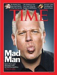 Time Magazine cover with Glenn Beck