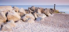 Panograin (James Snape) Tags: uk sea landscape rocks europe unitedkingdom pebbles september dorset bournemouth 2009 lightroom hengistburyhead leefilters 06nd 06ndgradhe