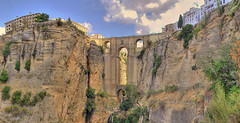 Puente Nuevo (Ronda) (Csar Atanes) Tags: new bridge espaa puente town spain europa europe pueblo andalucia ronda andalusia espagne malaga nuevo
