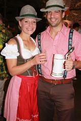 Dirnl und Lederhosen at German Beer Night (jayinvienna) Tags: dulles oktoberfest lederhosen dullesairport dirndl bundeswehr luftwaffe bundesmarine germanbeernight bundeswehrkommando germanarmedforcescommand