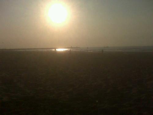 Indian summer, nog ff aan zee eten!