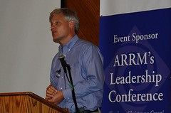 Rep. Thissen addresses the audience (ARRM) Tags: paul rep thissen