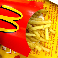Mickey D's in Guangzhou (wawrus) Tags: guangzhou friends food chinese fast tasty mcdonalds fries  fried   consistent