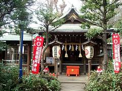 花園稲荷神社 本殿